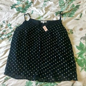 Black & Gold Swing Camisole - Never Worn/Tags On